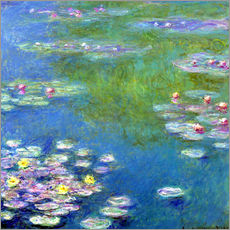 Gallery print  Nymphéas - Claude Monet