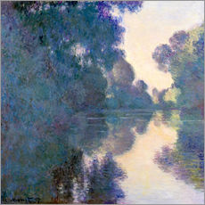 Gallery print  Morning on the Seine - Claude Monet