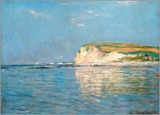 Premium poster  Low Tide at Pourville - Claude Monet