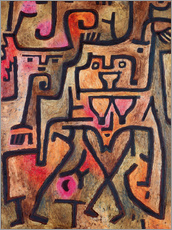 Wall sticker  Forest witches - Paul Klee