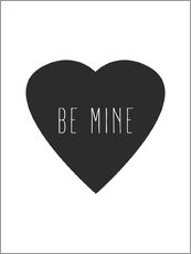 Gallery print  Be mine - Finlay and Noa