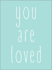 Wall sticker  You Are Loved - Finlay and Noa