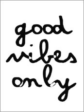 Gallery print  Good vibes only - Finlay and Noa