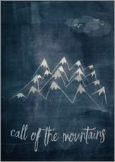 Wall sticker call of the mountains
