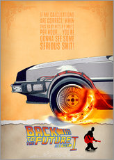 Wall sticker  Back to the Future - HDMI2K