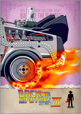 Gallery print  Back to the Future III - HDMI2K