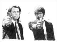 Wall sticker  Pulp Fiction - Cultscenes