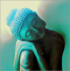 Wall sticker  Buddhas Lullaby - Christine Ganz