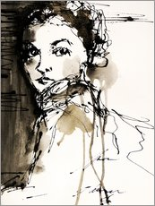 Gallery print  woman - Christin Lamade
