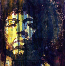 Wall sticker  Jimmy Hendrix - Paul Lovering Arts