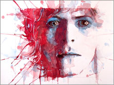 Wall sticker  The prettiest star : David Bowie - Paul Lovering