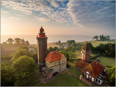 Gallery Print  Dahme Lighthouse Baltic Sea Aerial View - Dennis Stracke