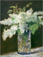 Wall sticker  Lilac bouquet - Edouard Manet
