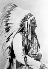 Wall sticker  Sioux Chief - Sitting Bull - John Parrot