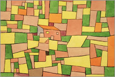 Gallery print  Country House of Thomas R. - Paul Klee