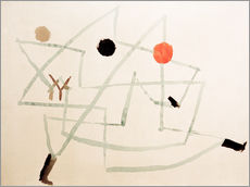 Gallery Print  Bewitched and in a hurry - Paul Klee