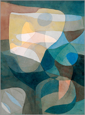Wall sticker  Light Propagation - Paul Klee