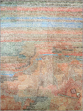 Gallery Print  the whole dawning - Paul Klee