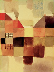 Wall sticker  Northern Town - Paul Klee
