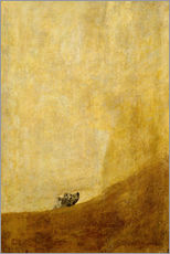 Gallery print  Dog - Francisco José de Goya