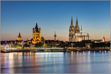 Gallery print  Magnificent Cologne - Michael Valjak