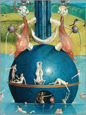 Wall sticker  Garden of Earthly Delights, mankind before the flood (detail) - Hieronymus Bosch