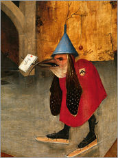 Gallery print  Saint Anthony is accused of devils (Detail) - Hieronymus Bosch