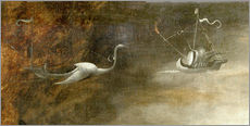 Gallery print  Saint Anthony in distress (Detail) - Hieronymus Bosch