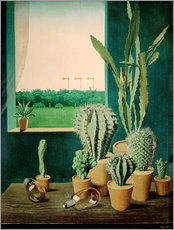 Gallery Print  Cacti and semaphores - Georg Scholz