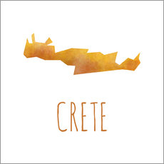 Wall sticker  Crete - Stephanie Wittenburg