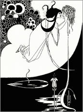 Wall sticker  Salome - Aubrey Vincent Beardsley