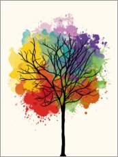 Nory Glory Prints - Watercolor tree