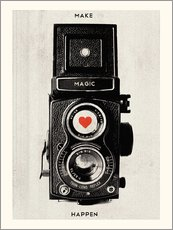 Gallery print  Vintage retro camera - Nory Glory Prints