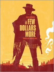 Wall sticker  For a few dollars more - Golden Planet Prints