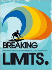 Gallery print  Surfer, Breaking limits - 2ToastDesign