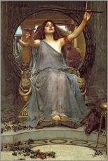 Wall sticker  Circe Offering the Cup to Ulysses - John William Waterhouse