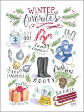 Gallery print  Winter favorites - Lily & Val