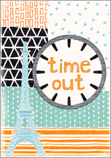 Wall sticker  Time Out - Sybille Sterk
