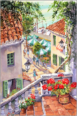 Gallery print  Harbour Steps - Paul Simmons
