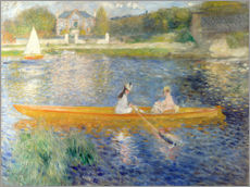 Wall sticker  The Seine at Asnieres - Pierre-Auguste Renoir