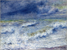 Canvas print  seascape - Pierre-Auguste Renoir