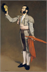 Gallery print  The matador - Edouard Manet