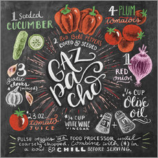 Wall sticker Gazpacho recipe