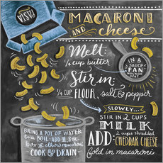 Gallery Print  Macaroni and Cheese - Lily & Val