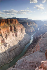 Gallery print  Landscape: sunset over Colorado river, Grand Canyon, USA - Matteo Colombo