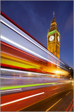 Wall sticker  Street lights at Big Ben - Rainer Mirau