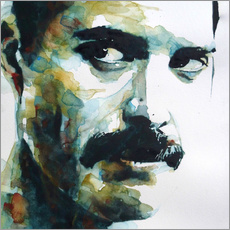 Wall Stickers  Freddie Mercury - Paul Paul Lovering Arts