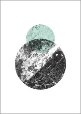 Wall sticker  marble moons - RNDMS