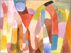 Gallery print  Movement of Vaulted Chambers - Paul Klee