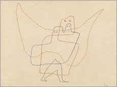 Gallery print  Angels Shut - Paul Klee
